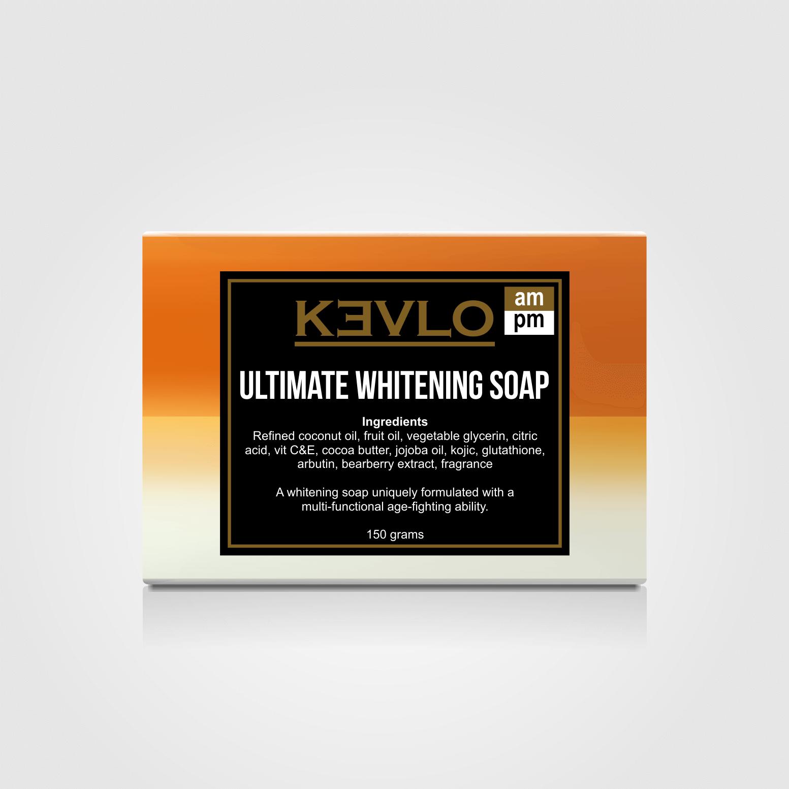 KEVLO Ultimate Whitening Soap